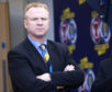 Alex McLeish back in as Scotland manager.