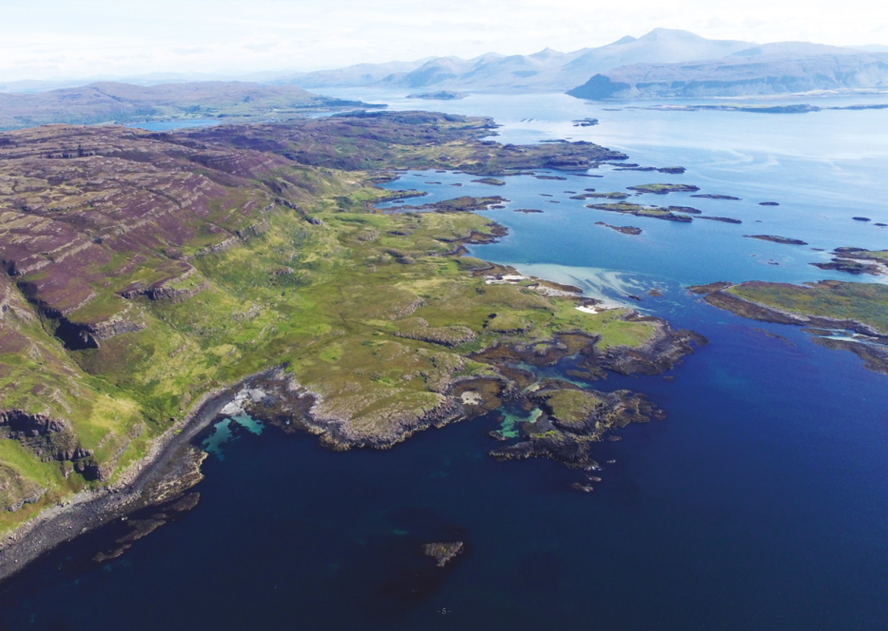 The bid to buy Ulva was launched about a year ago when Mr Howard decided to put the estate on the market