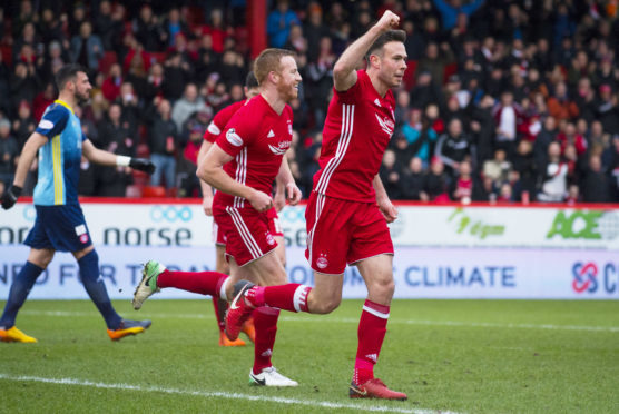 Andrew Considine opened the scoring for Aberdeen.