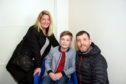 Pictured are from left, Suzi Robertson, Zak Robertson and Murray Robertson. Their son Zak Robertson auditioned for the movie.