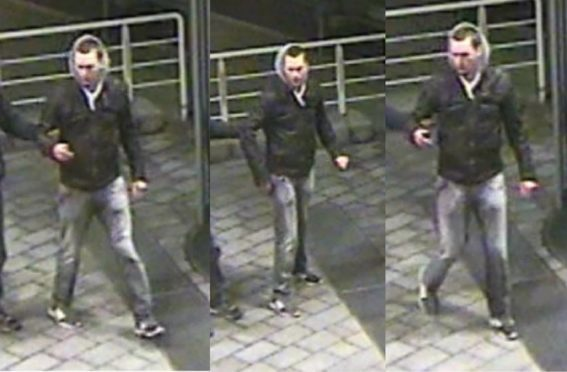 CCTV images of Liam at around 2:20 am on February 10, after he was helped by a man in the Baumwall area.