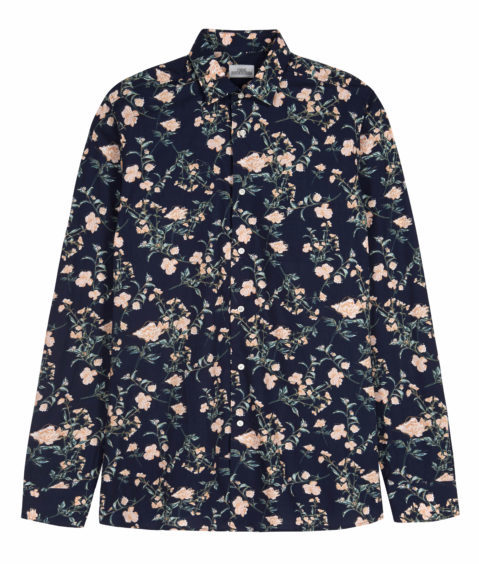 Add a splash of colour into your life with this snazzy floral print shirt, £28 from Next