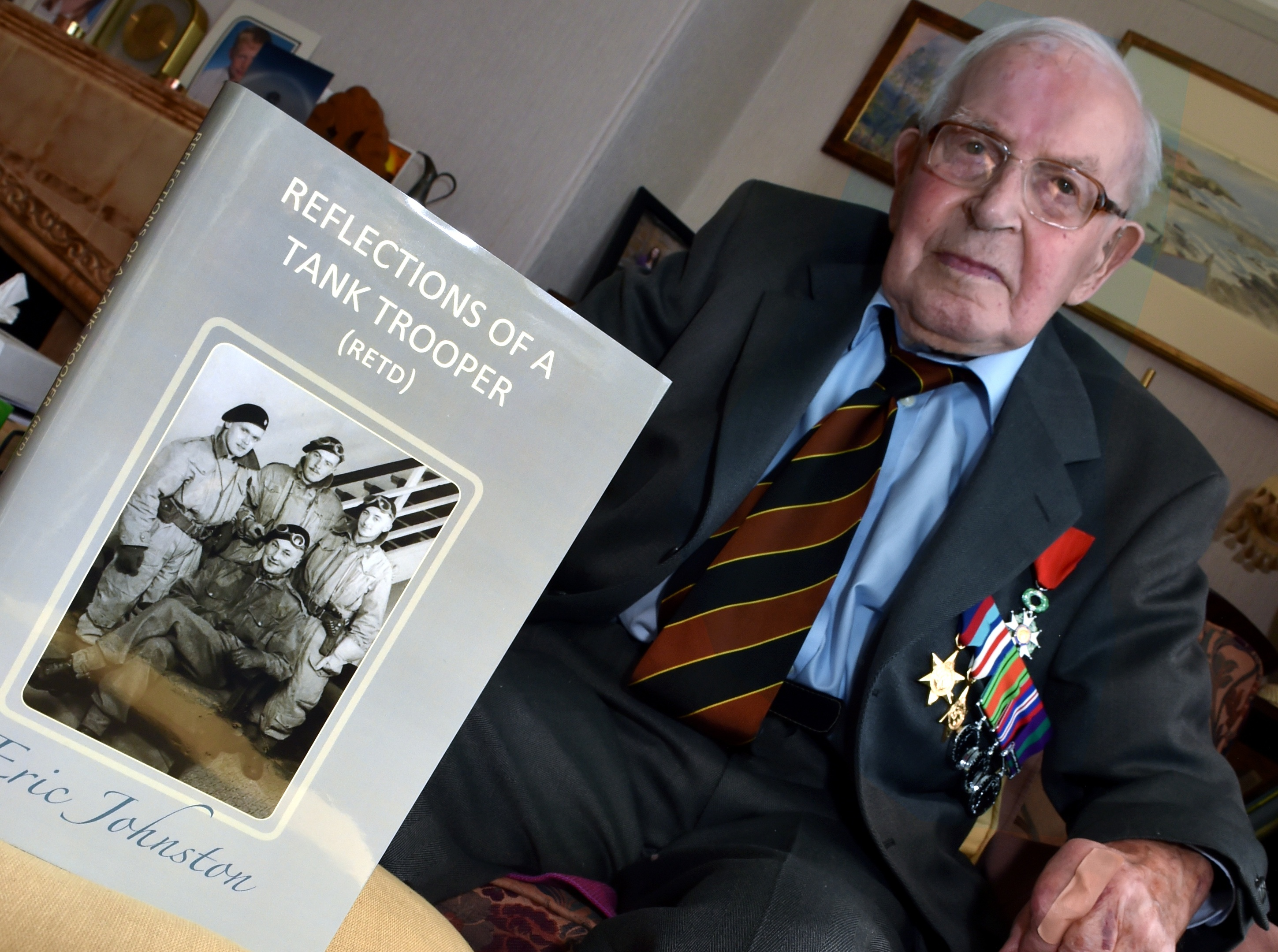 Eric Johnston, D-Day hero, has died, aged 96
