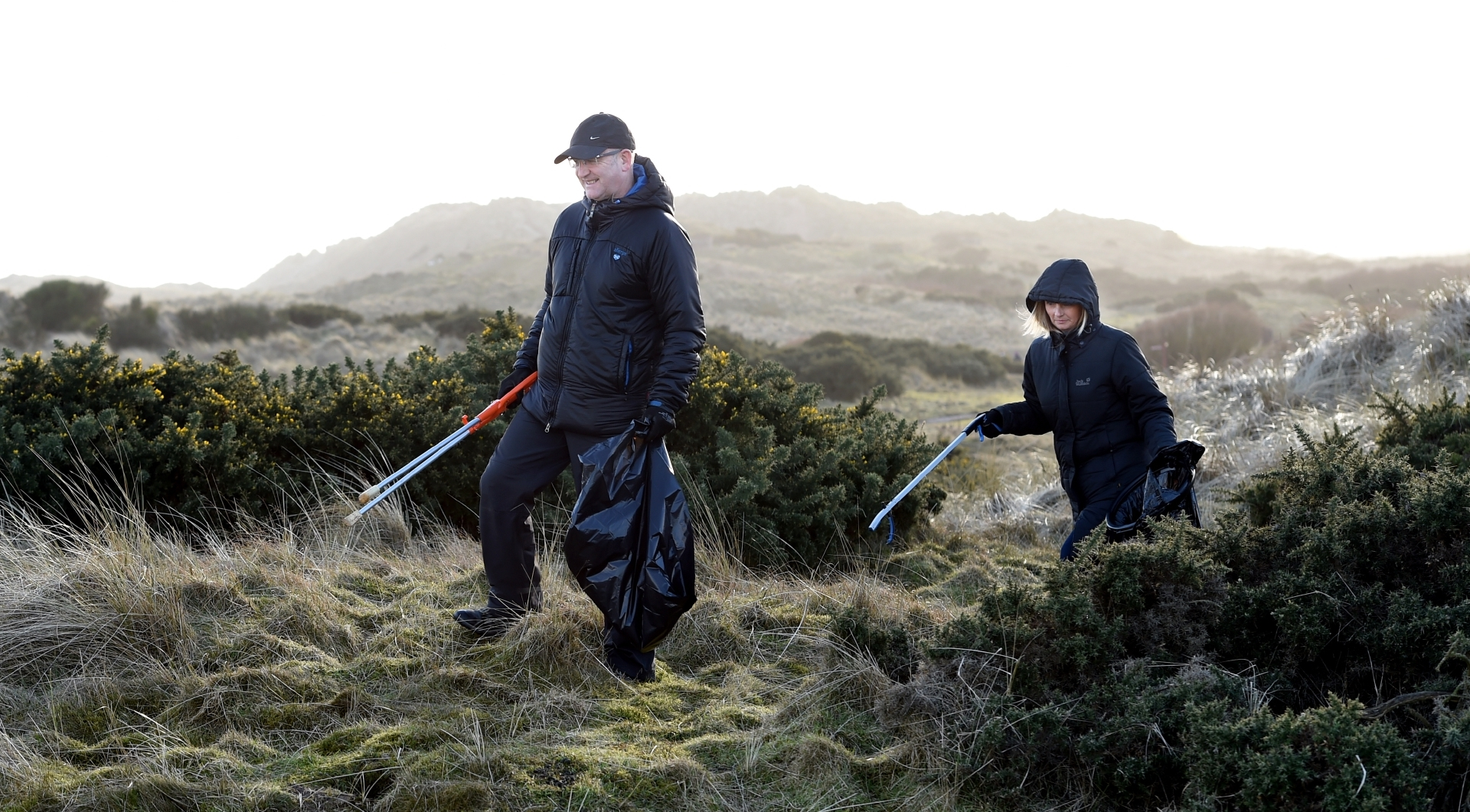 Volunteers are needed for a clean-up at the Balmedie Country Park beach area
