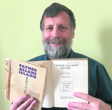 Long Overdue Book Finally Makes it Back to Stornoway Library, Thanks to Alastair