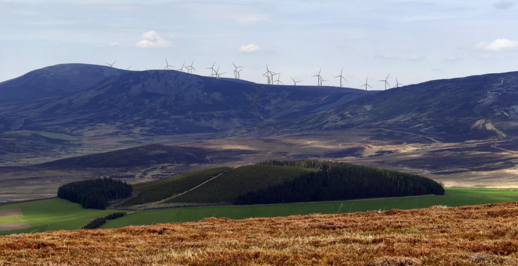 An artist impression of Dorenell turbines