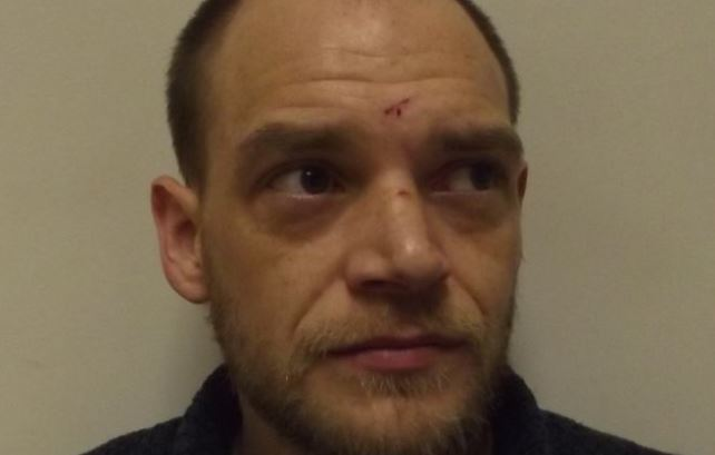 Jason Sheridan was jailed for eight months at Wick Sheriff Court this week for the December crime.