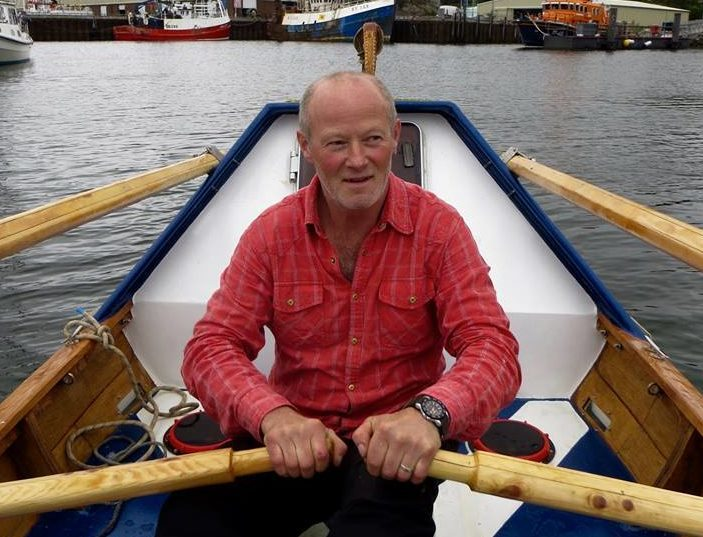 Duncan Hutchison, 53, will set off on his epic solo adventure from the United States on May 20 in a 23ft boat he built himself.