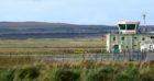 Stornoway Airport, Stornoway, Isle of Lewis.