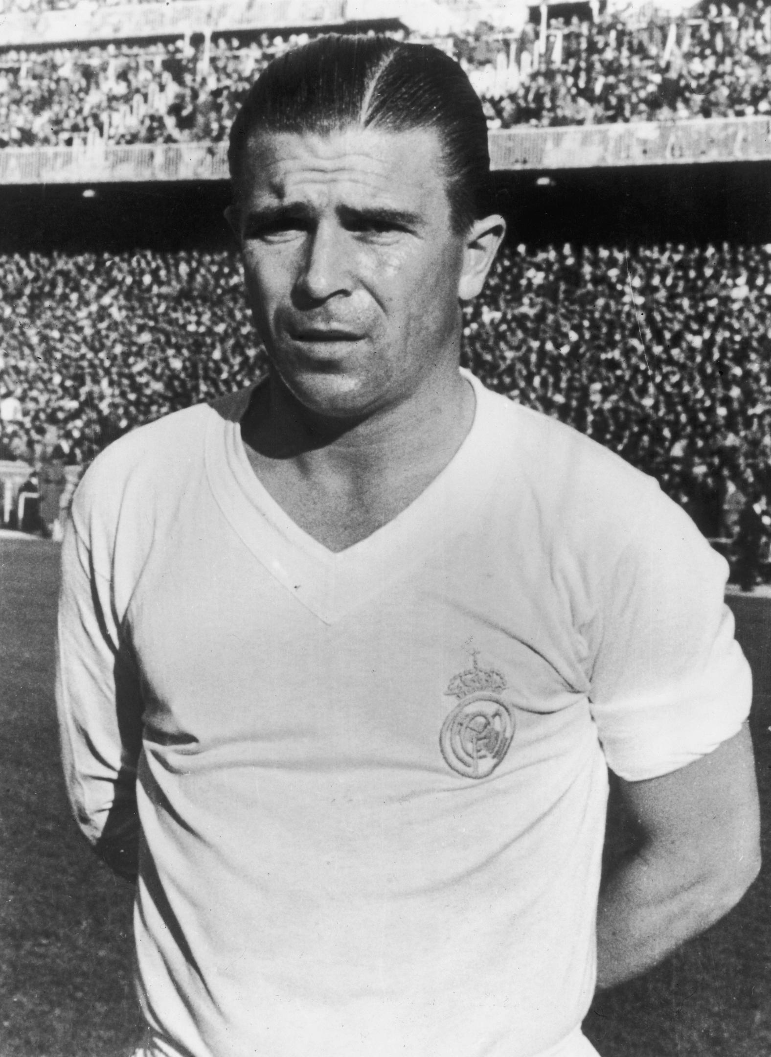 Hungarian footballer Ferenc Puskas