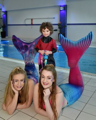 Summer Russell with some Love Rara mermaids.
