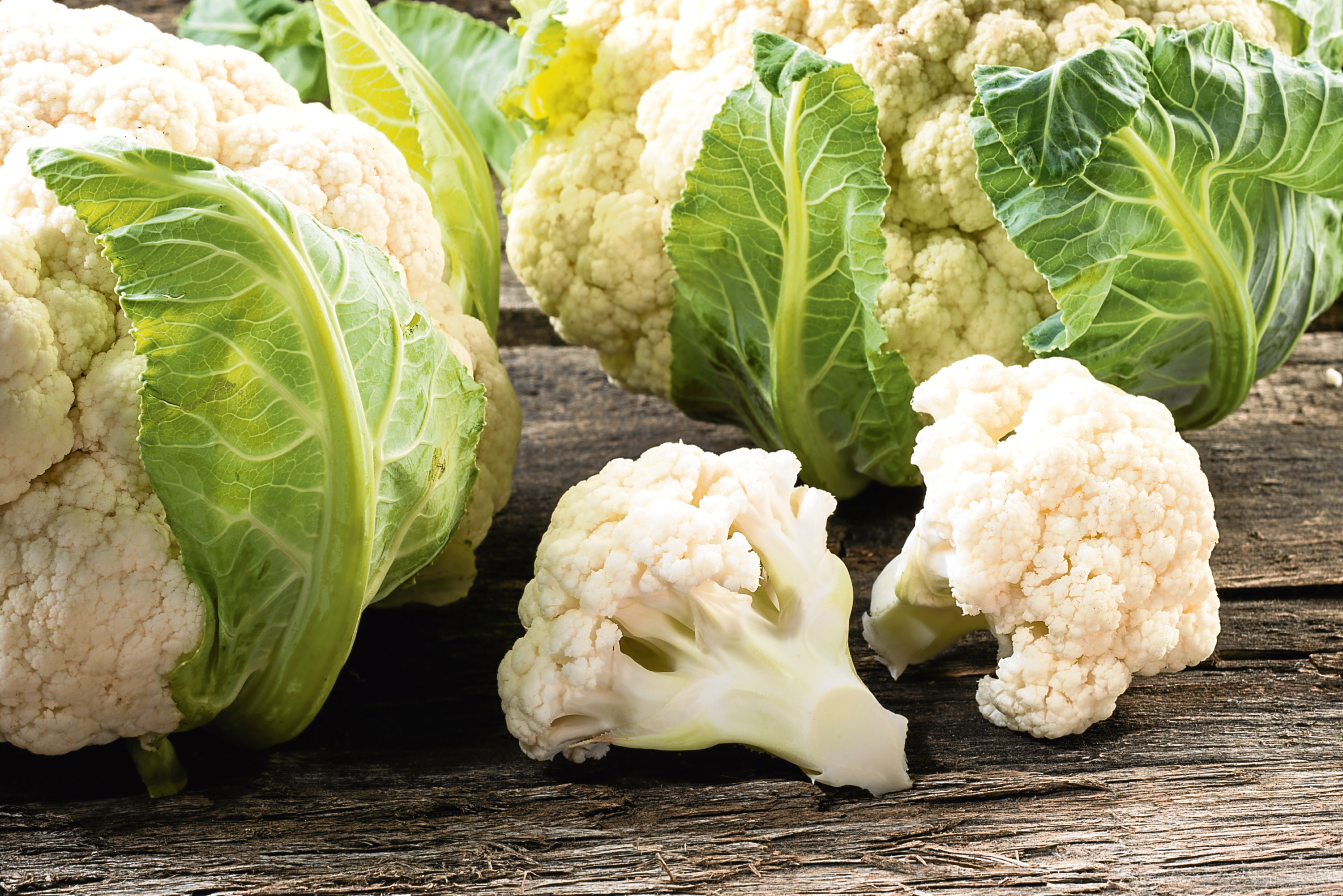 The company grows a range of vegetables including cauliflower.