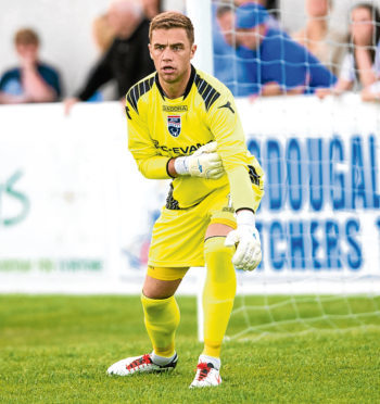Michael Fraser played for Ross County and Caley Thistle.