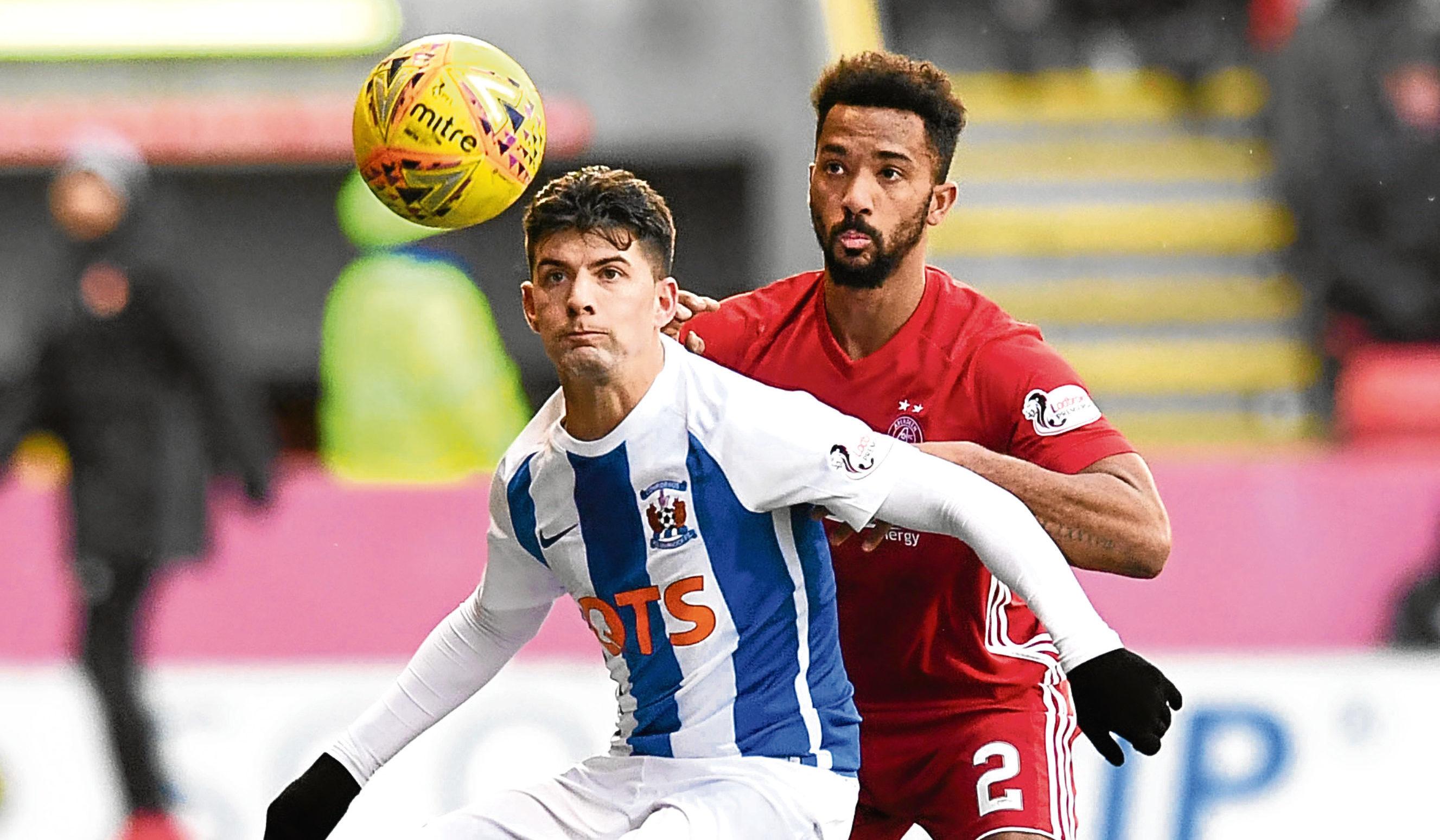 The Dons return to league duty against Kilmarnock on Saturday.