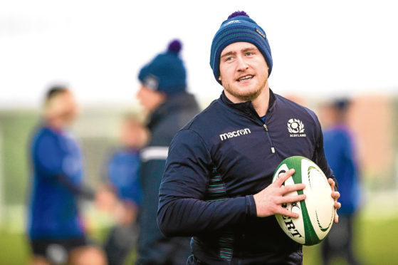 Scotland captain Stuart Hogg.