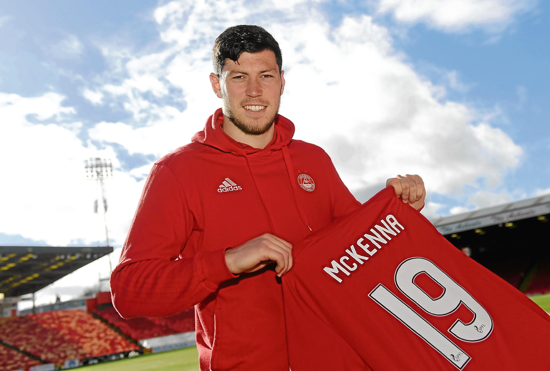 Scott McKenna's Aberdeen career has come a long way in 12 months.