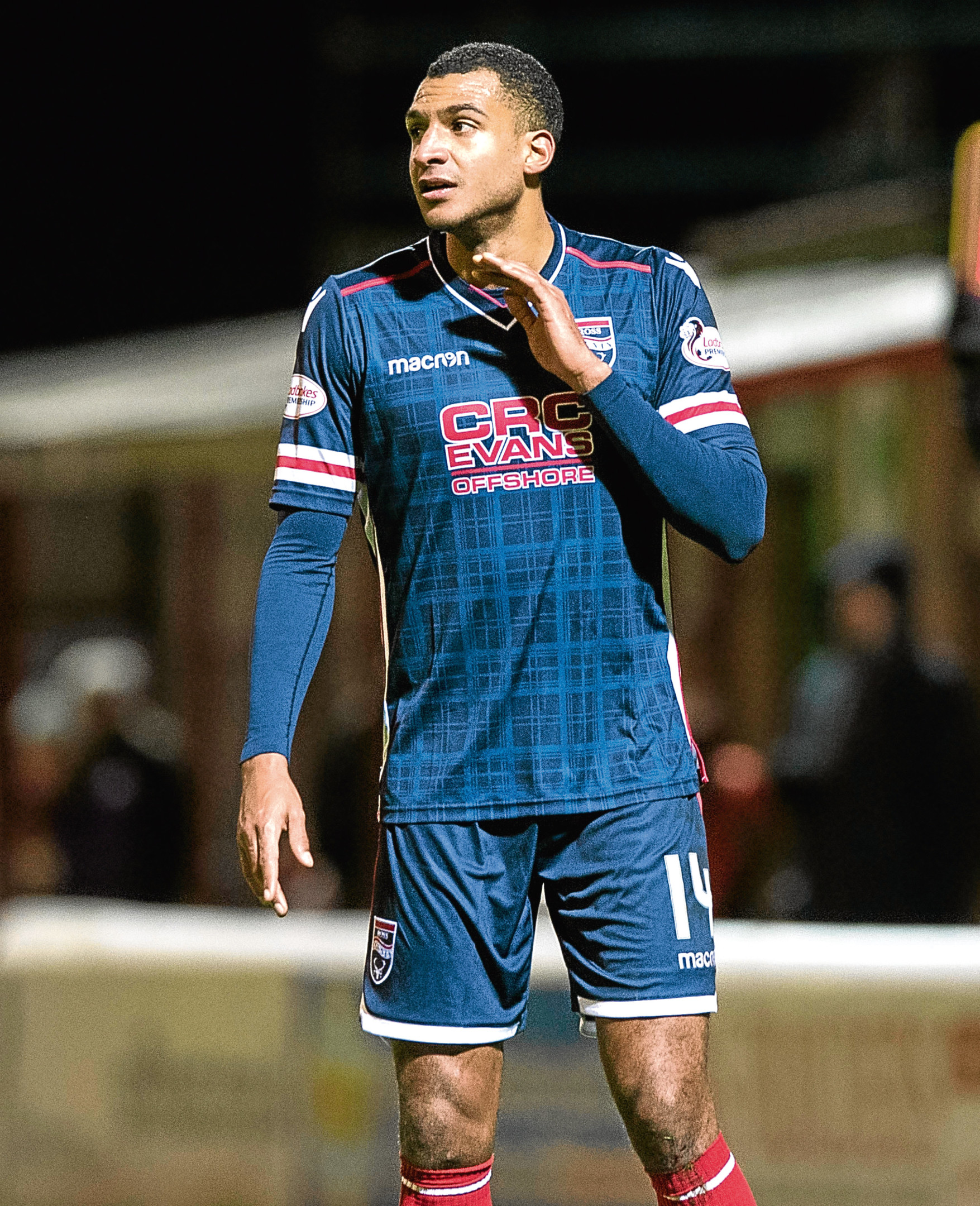 David Ngog is among six first-team players let go by Ross County