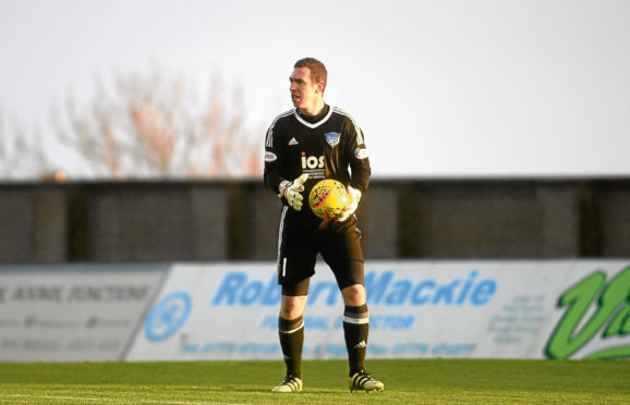 Peterhead's Greg Fleming.