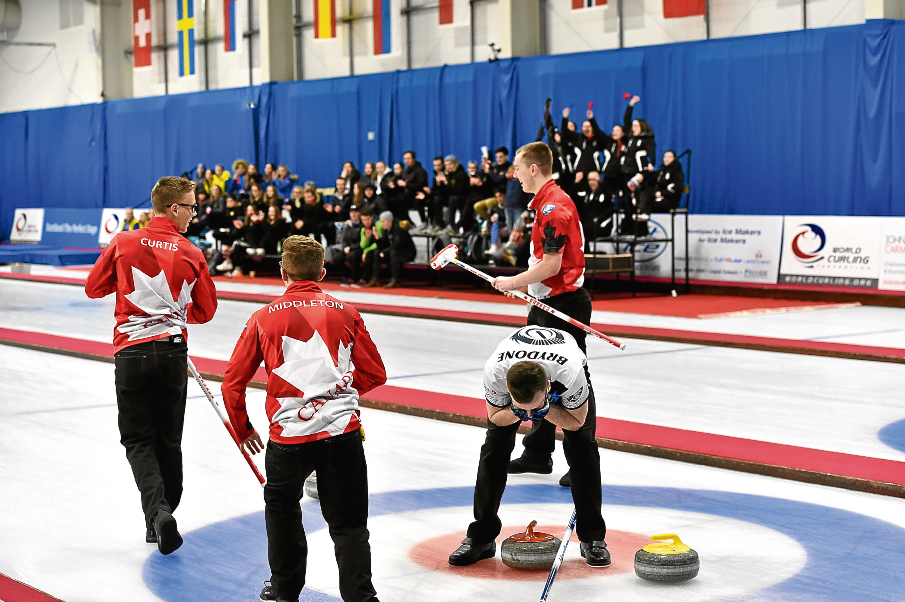 World Junior Curling Championships held at Aberdeen Curling.