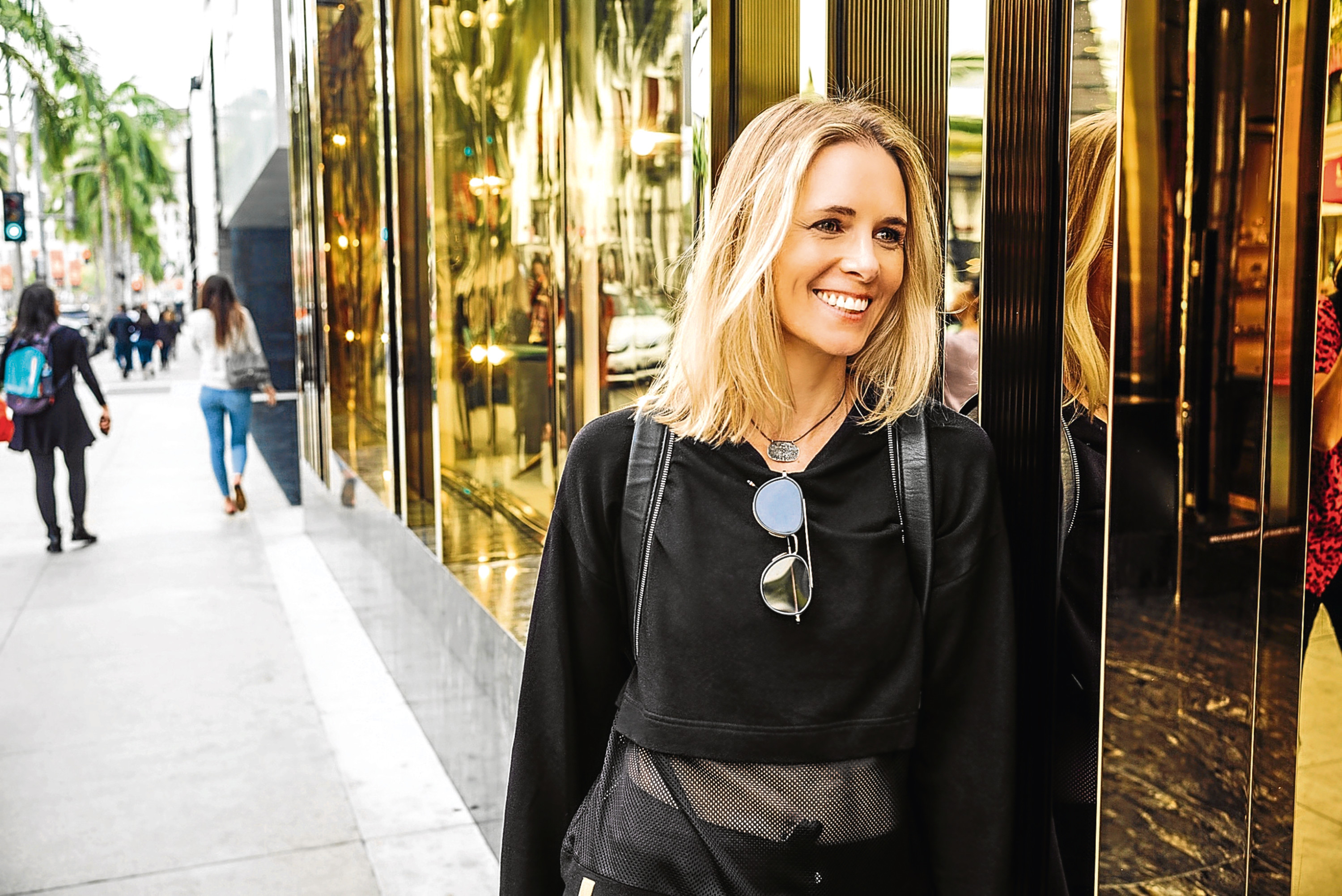 Stefani Grosse, founder and chief executive of luxury womens sports fashion brand Monreal London