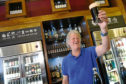 Chairman and founder of JD Weatherspoon, Tim Martin pictured in the Cross Keys, Peterhead, is speaking out on the EU Referendum.      Picture by Kami Thomson    25-05-16