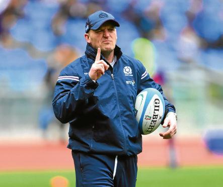 Gregor Townsend, head coach of Scotland.