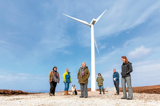 Coigach Community CIC raising £1.75 million for community wind turbine project.