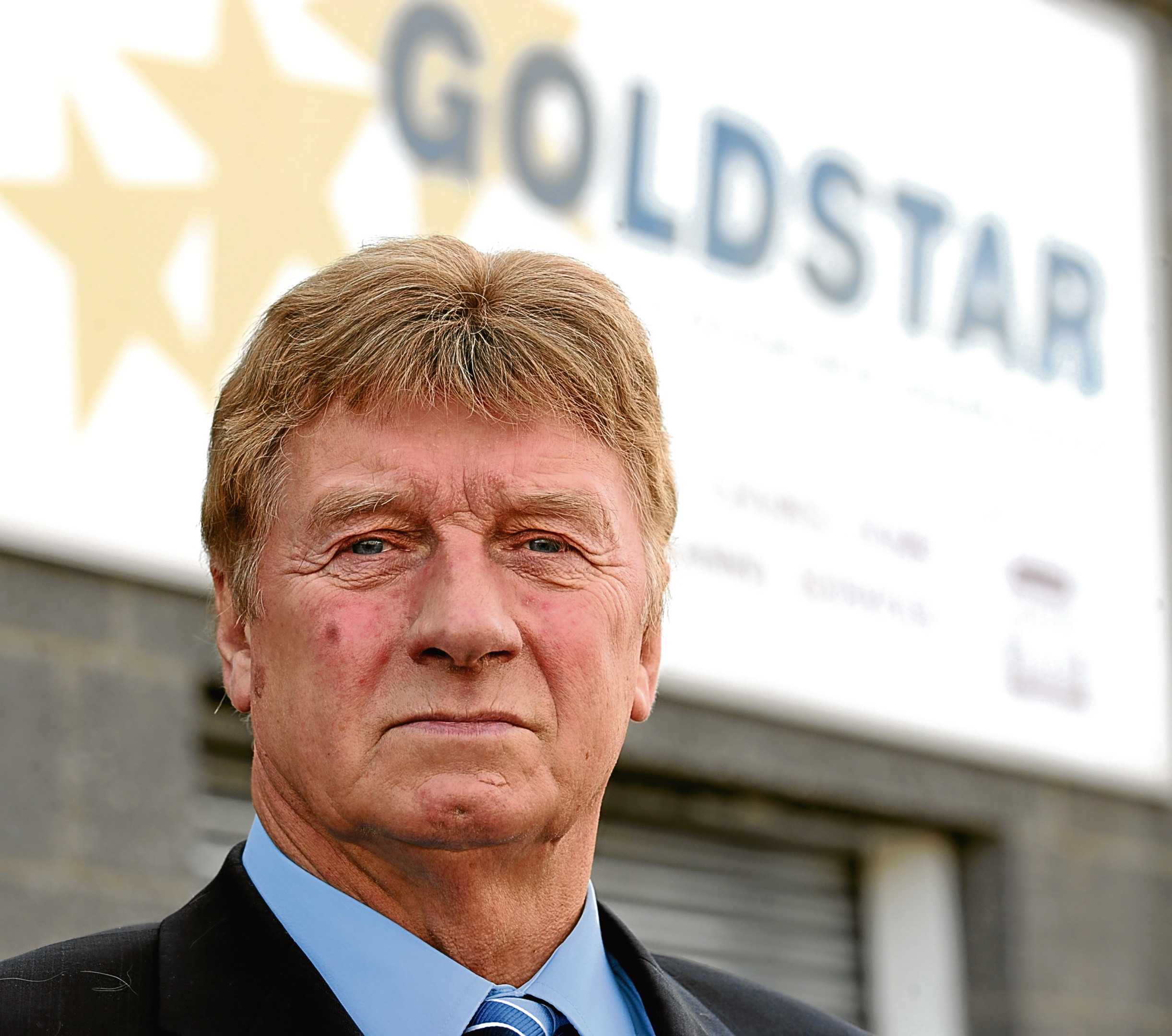 Andy Willox, Scottish Policy convenorfor the Federation of small businesses, pictured at Goldstar, South Esplanade West, Torry, Aberdeen. Picture by JIM IRVINE         29-10-2008 .