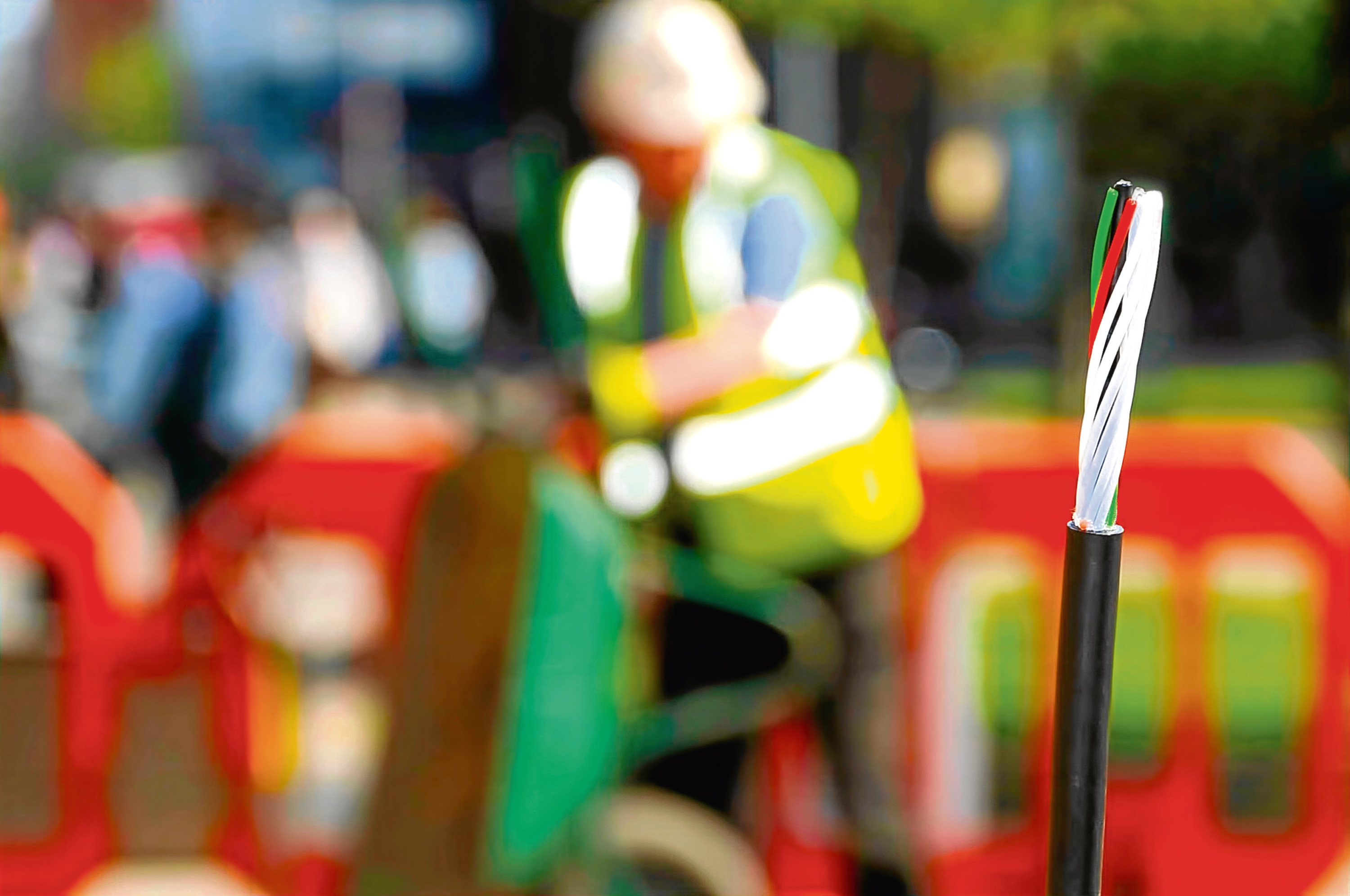 ## generic broadband image ##    CityFibre 2: The Aberdeen CORE pure fibre network will make the city one of the best connected in the world.