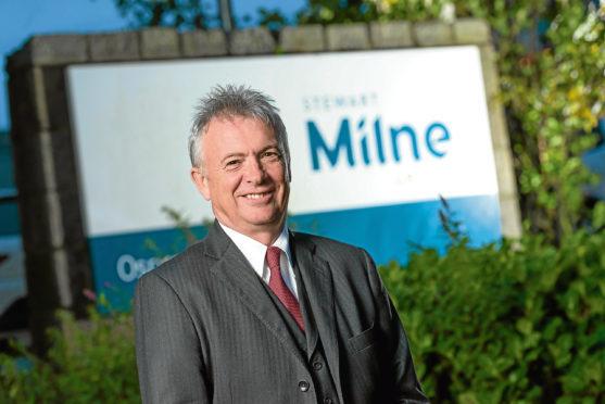 Glenn Allison, chief executive of Stewart Milne Group.