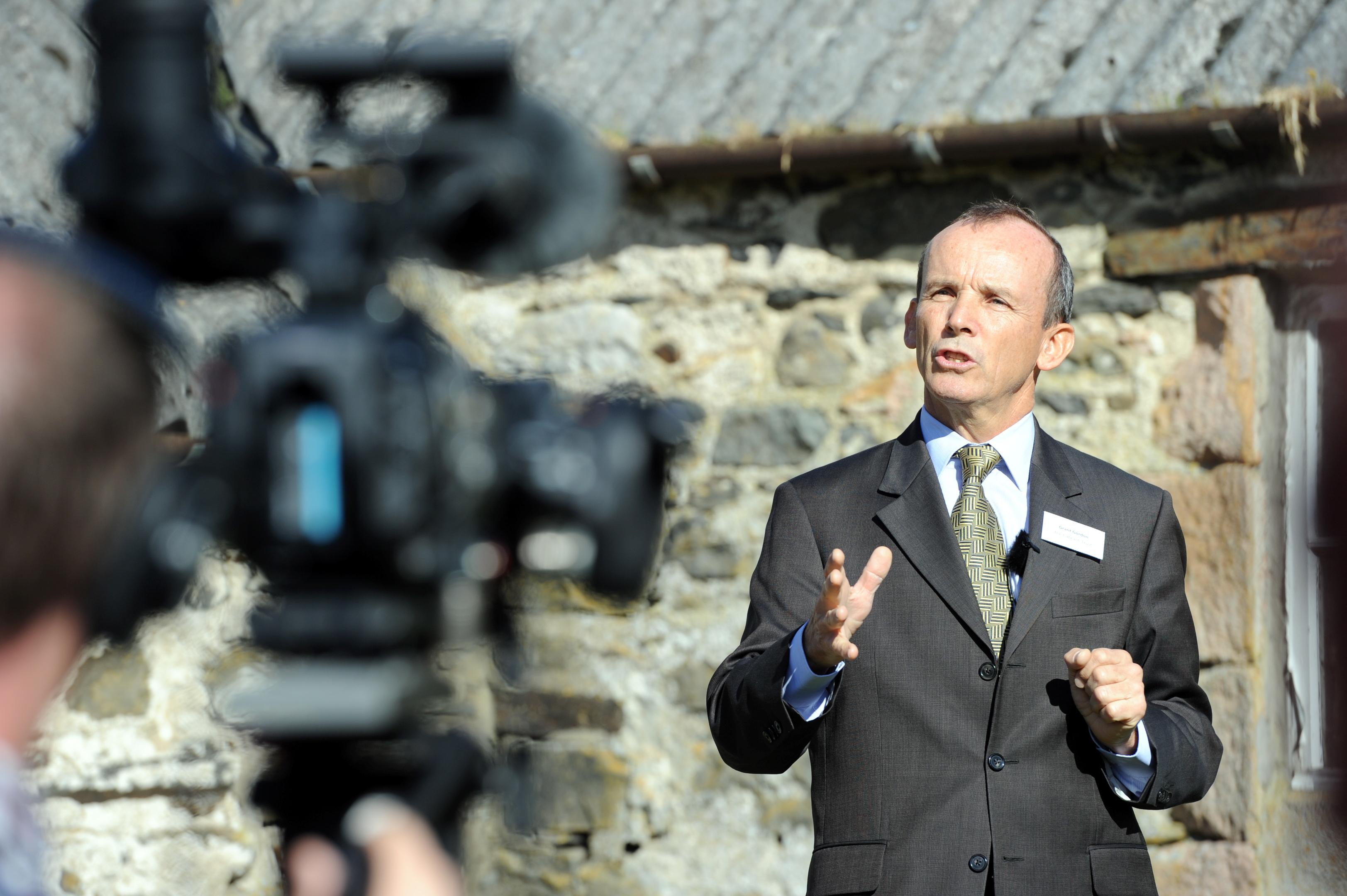 Grant Gordon, chairman of the Cabrach Trust.