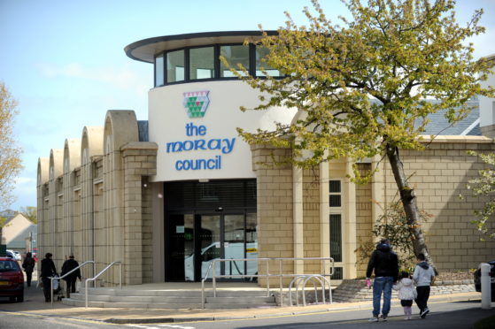 The Moray Council headquarters in Elgin.