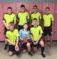 Buckie's five-a-side team. Back row: Jamie Wood, Innes McKay, Brodie Christie, Evan Smith. Front row: Tommie Marandola, Finlay McKay, Jay Flett.