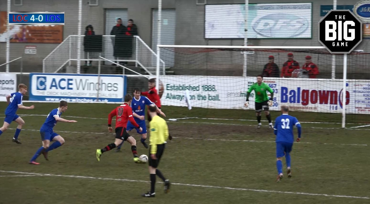 Highlights and all the goals from Saturday's Highland League fixture as Inverurie Locos hosted Lossiemouth.