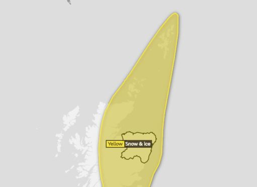 The north of Scotland is getting a second dose of snow as the Met Office issue a Yellow weather warning.