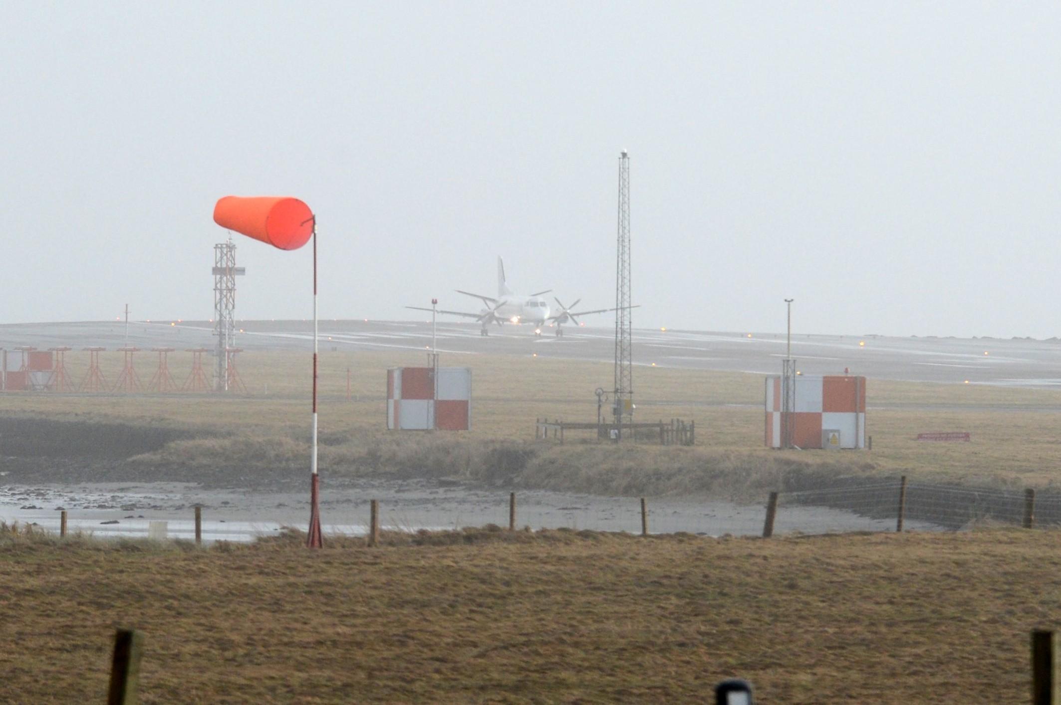 Sumburgh Airport, Shetland.