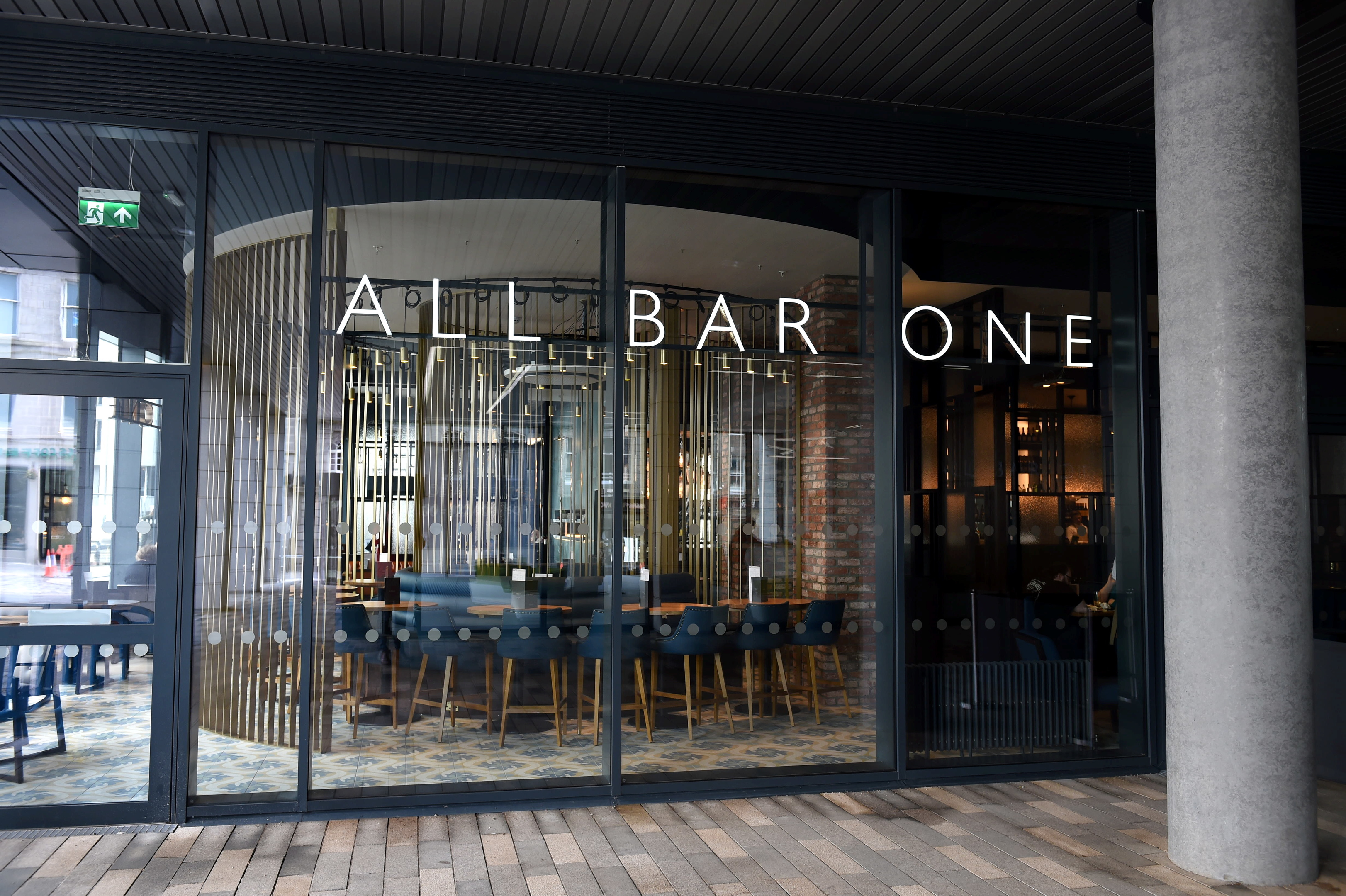 The new All Bar One at Marischal Square