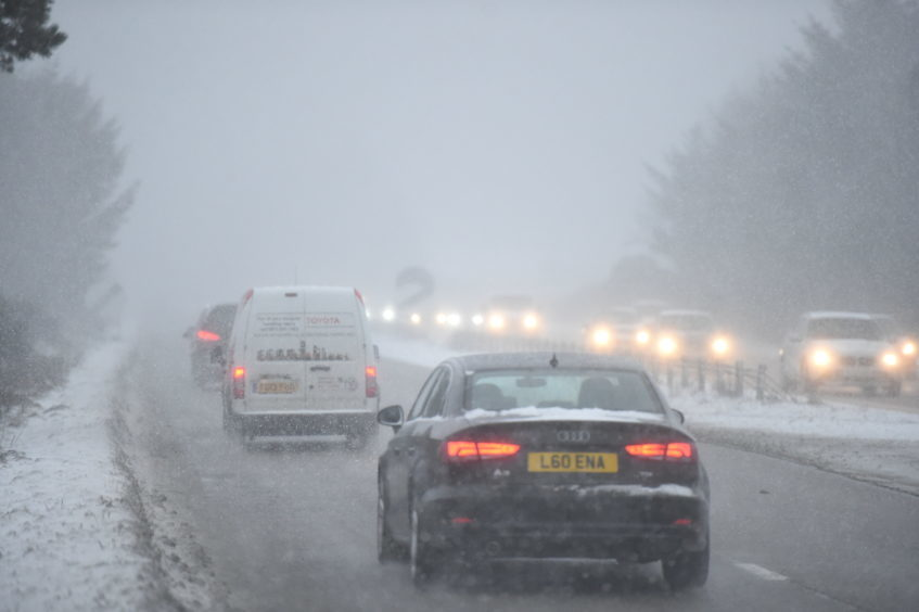 Aberdeen during 2018's Beast from the East.