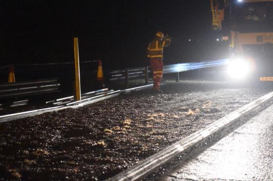 Aberdeenshire potholes
