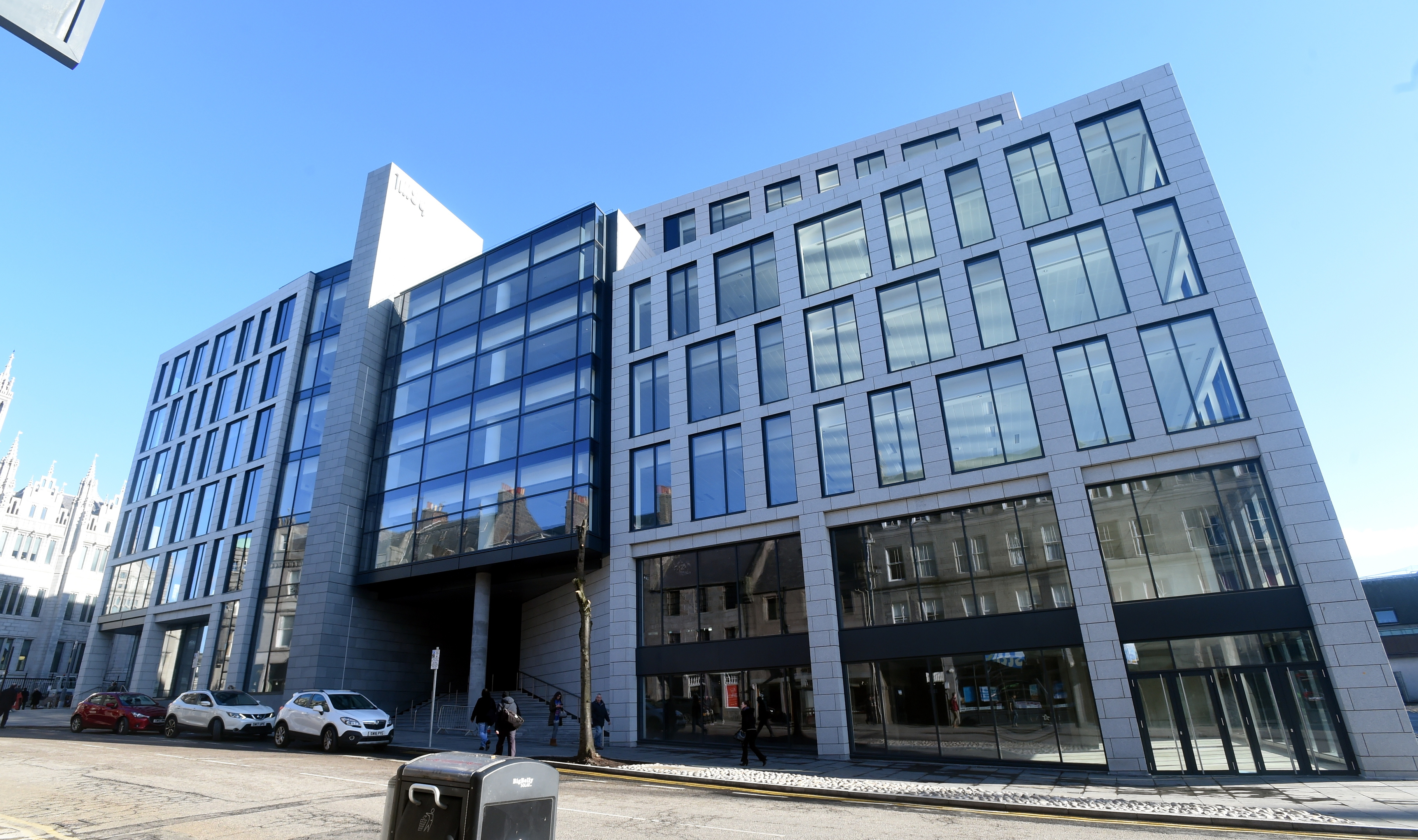 The new offices in Marischal Square.