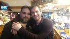 Barman Craig Gerrard and Mark Stanley.