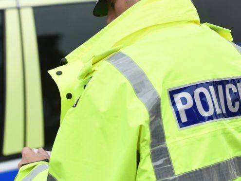 The incident involving a blue Vauxhall Vectra car and a male pedestrian and happened at approximately 7.30pm near Newburgh.