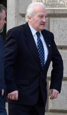 Aberdeen High Court - former Shetland councillor, Robert Henderson, up for historic sex offences.