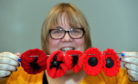 Nancy Duncan of Peterhead has created her own D-Day tribute