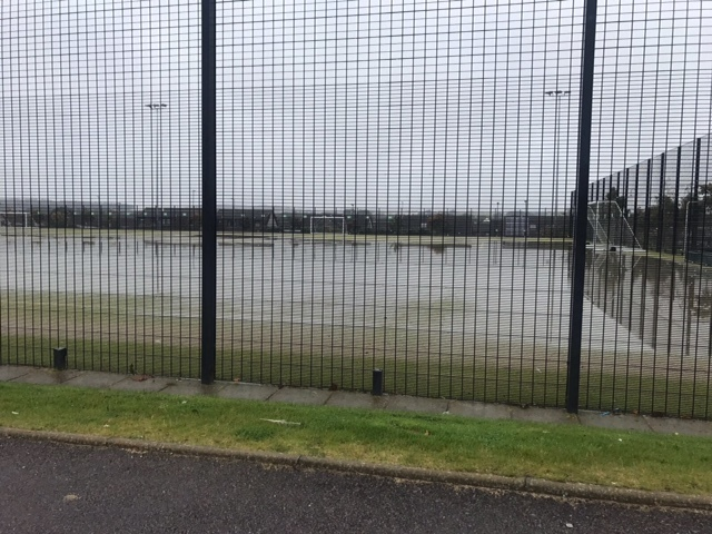 A row was sparked after the pitch at Portlethen Academy was replaced with a 2G surface.
