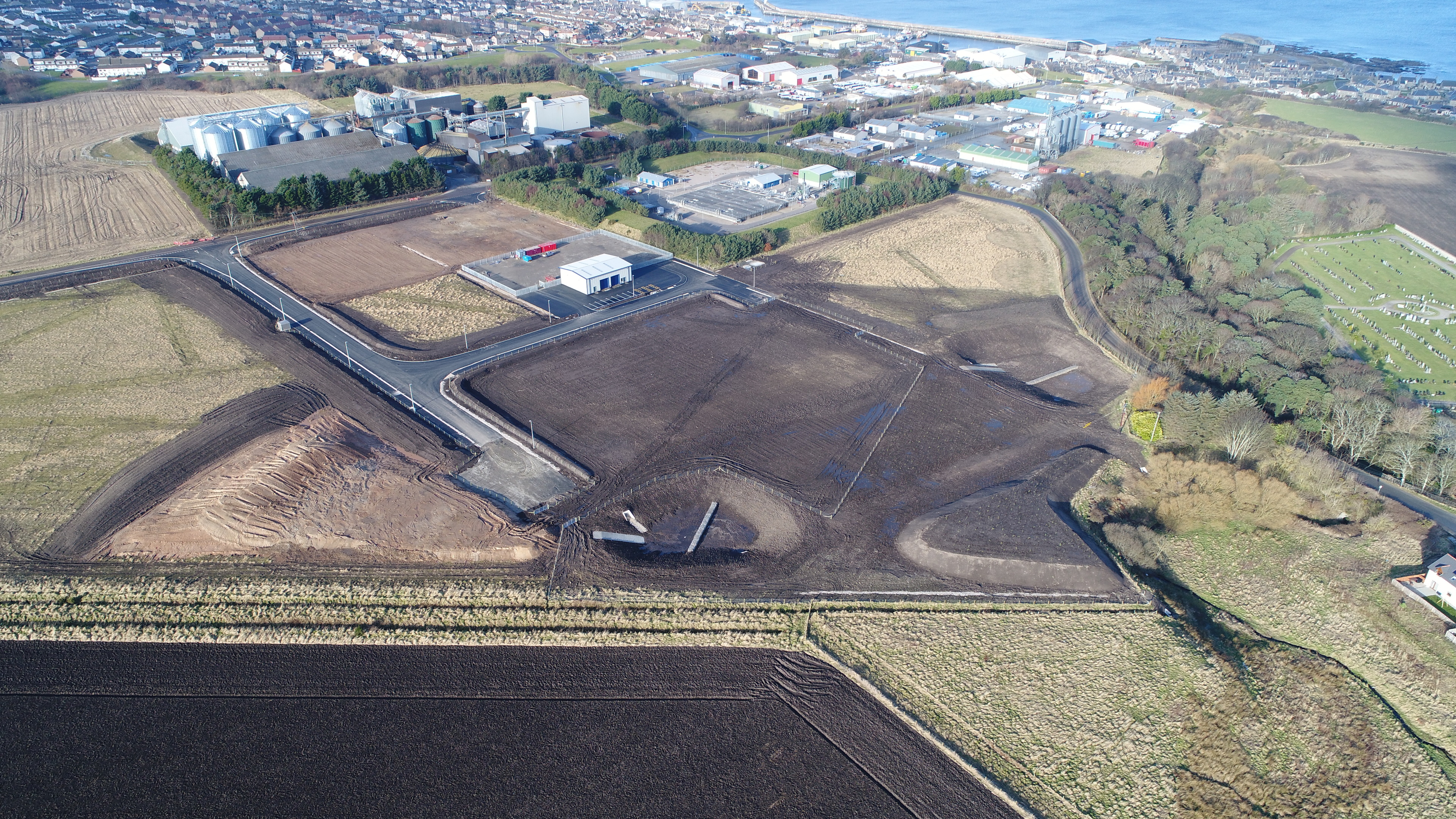 Work began on the Rathven project last year