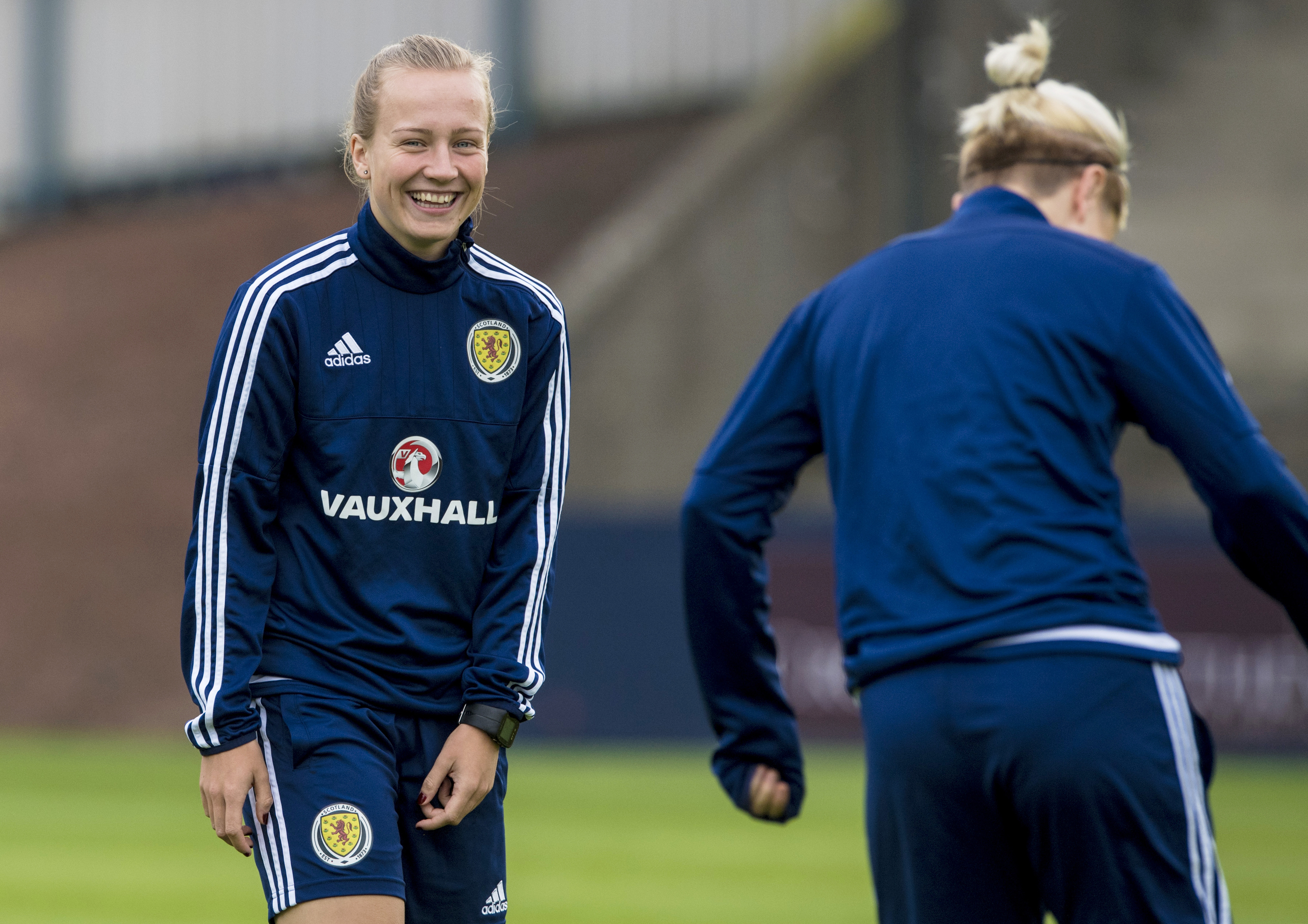 Scotland's Rachel McLauchlan, aims to inspire youngsters as a role model.