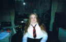 Laura Newman, the young woman whose ashes were put in a message in a bottle which has been found on a Scottish island.