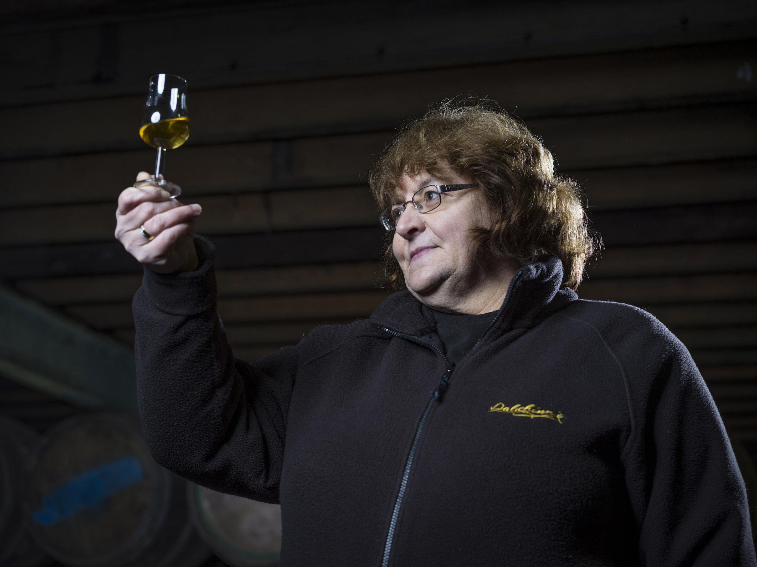 Whisky bosses have toasted Scotland's first female malt distiller