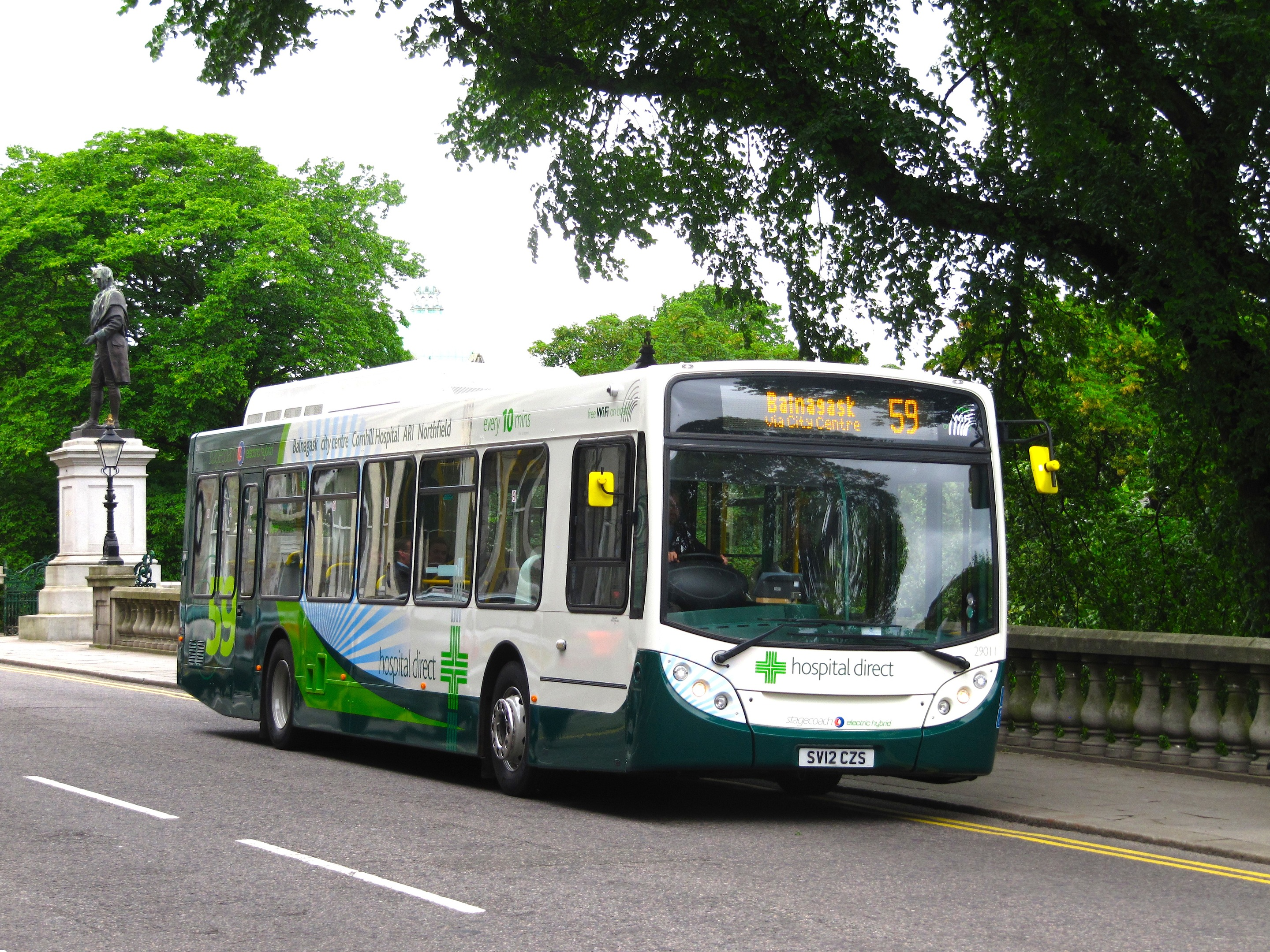 A stagecoach service 59 bus